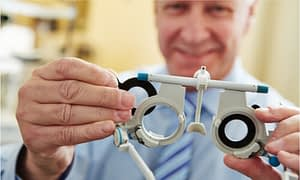 Visit an eye doctor to know the condition of your eyes.